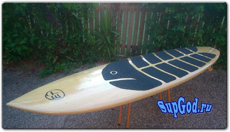 Чертежи SUP Board для волн