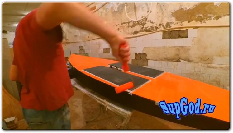 Как сделать SUP Board из фанеры