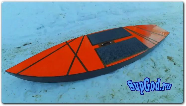 Самодельный SUP Board из фанеры