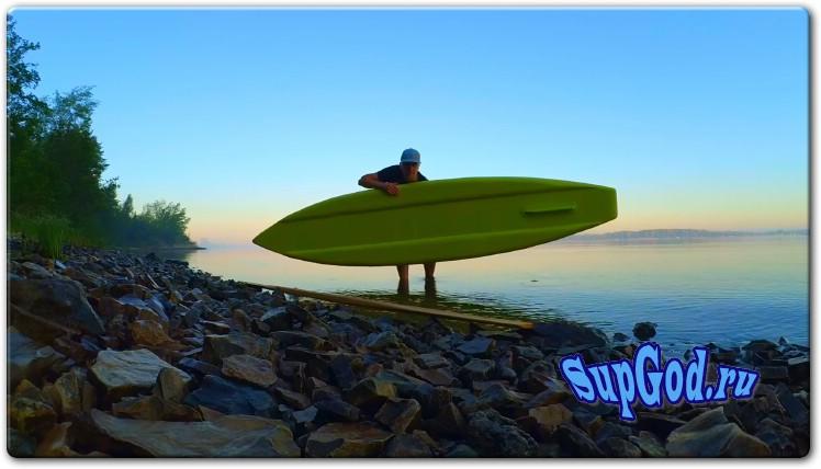 SUP Board из пеноплекса своими руками